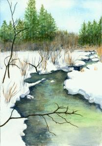 Creek at Lawless Park