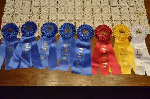 Here's what Billy, Breezy and I earned over the 2 days of showing.