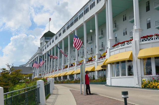 "The ""grandness"" of the Grand Hotel."