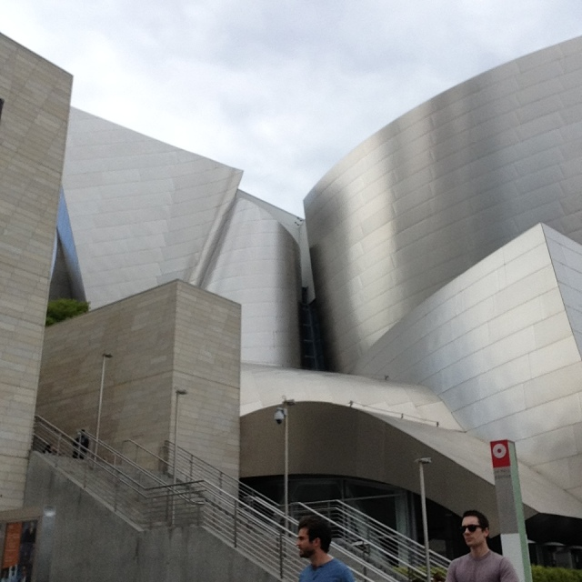 Detail of Frank Gehry's Walt Disney Concert Hall
