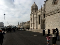 The Jeronimos monastery is immense. I can't imagine that a bunch of monks needed all this working space!