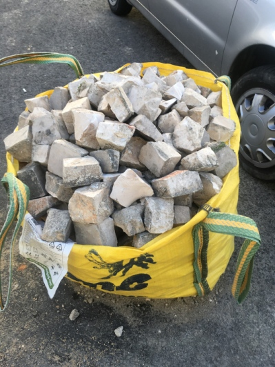 And if you need to repair your cobblestones, you get a big bag of these...