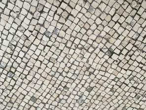 99.9% of Lisbon's sidewalks are cobblestone. Greg decided to document it.