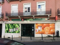 """Lisbon's idea of a supermarket. This one is probably about the size of a small shoe store. Many """"mini-markets"""" abound too, most of them the size of an average bedroom."""