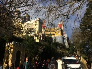 Sintra looks a bit like Disneyland, Portuguese style. Except it's all very real.